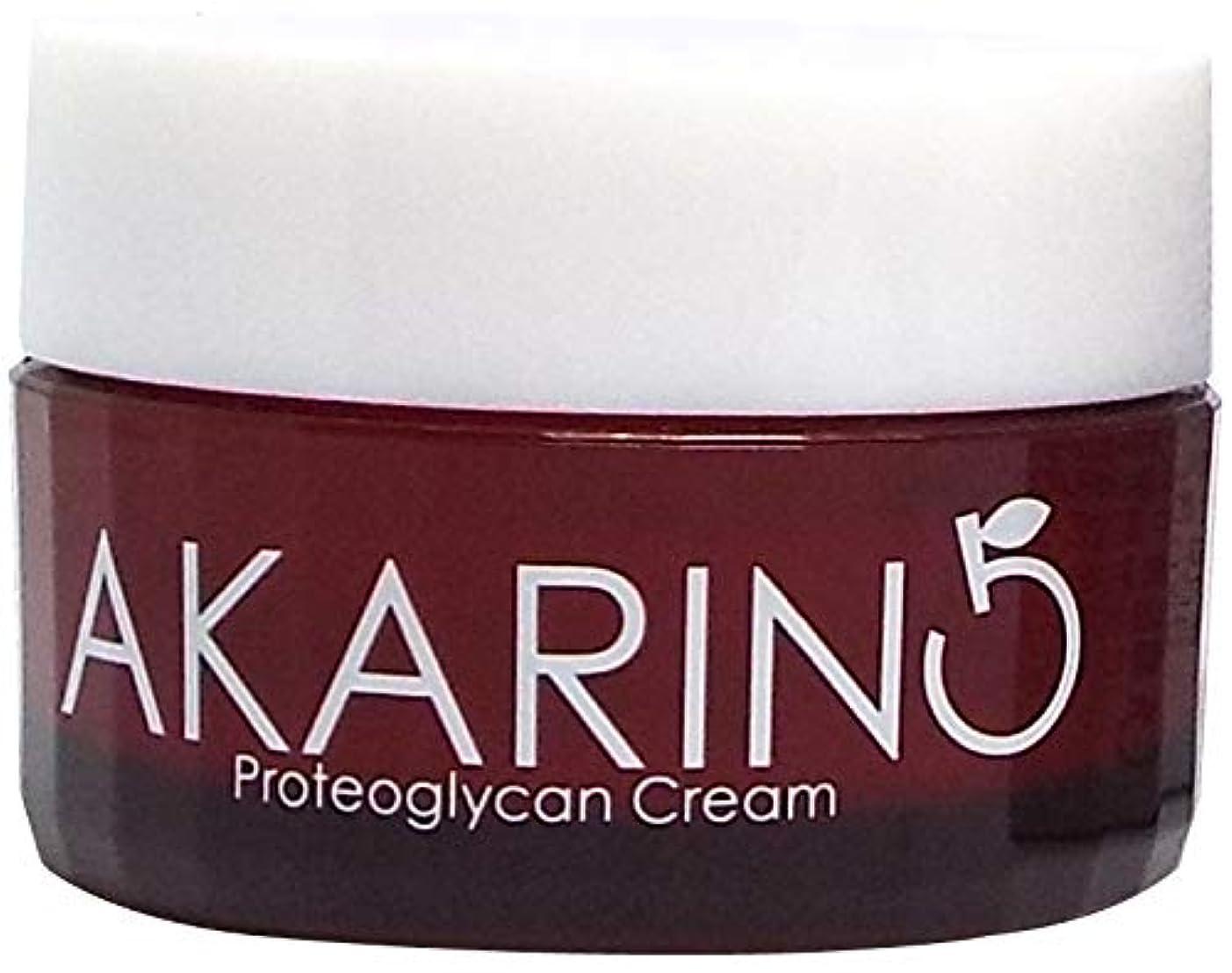 卑しいモジュール嘆くプロテオグリカン配合フェイスクリーム 30g AKARIN5