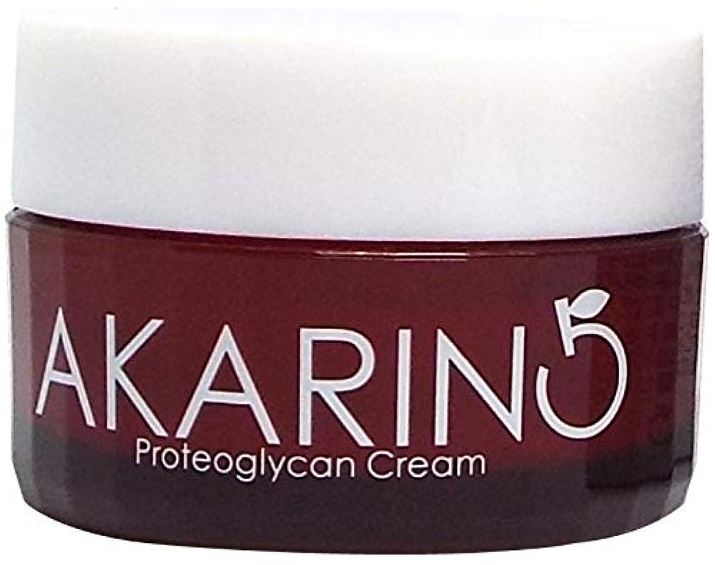 あいさつ当社見つけるプロテオグリカン配合フェイスクリーム 30g AKARIN5