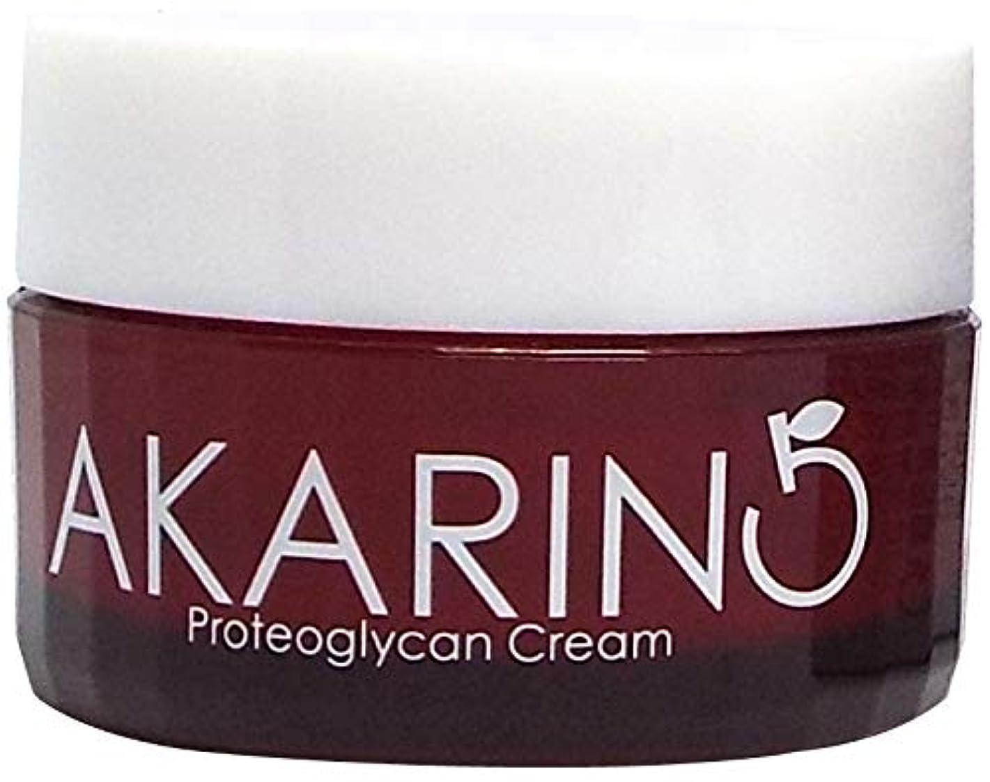 弁護人分布ますますプロテオグリカン配合フェイスクリーム 30g AKARIN5