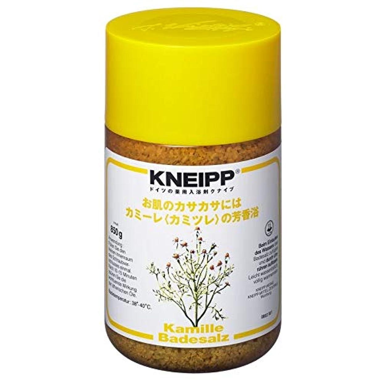 肥料アミューズメント粘土クナイプ バスソルト カミーレカミツレの香り 850G 2個セット