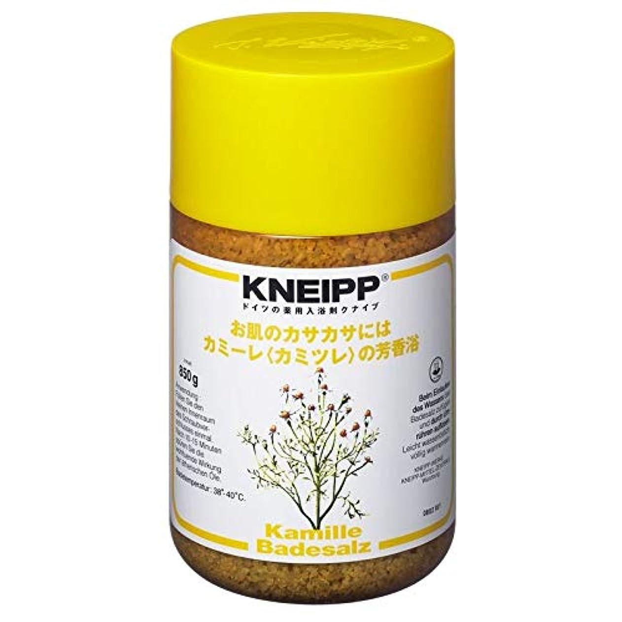 植物学彼らは対処するクナイプ バスソルト カミーレカミツレの香り 850G 2個セット
