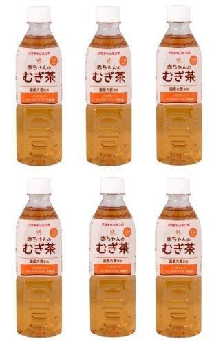 赤ちゃん本舗 赤ちゃんのむぎ茶 500ml 【6本パック】
