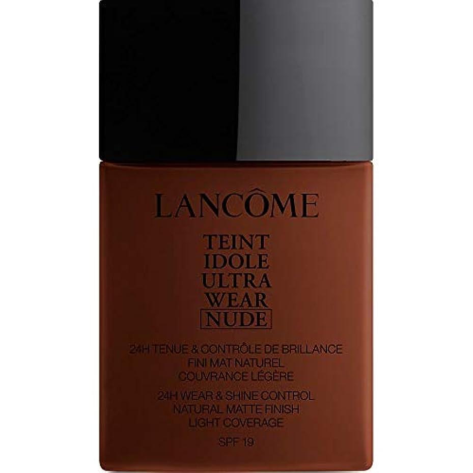 まっすぐにするセンチメンタル人工的な[Lanc?me ] ランコムTeintのIdole超摩耗ヌード財団Spf19の40ミリリットル15 - 真岡 - Lancome Teint Idole Ultra Wear Nude Foundation SPF19...