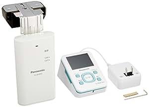 Panasonic ワイヤレスドアモニター ドアモニ ブルー ワイヤレスドアカメラ+モニター親機 各1台セット VL-SDM110-B