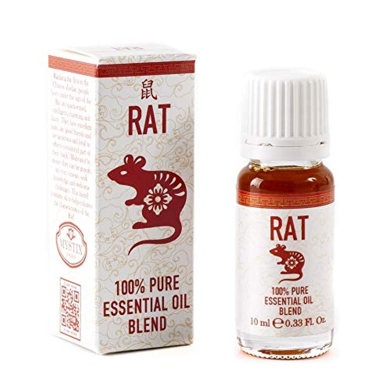 叙情的なアンデス山脈応用Mystix London   Rat   Chinese Zodiac Essential Oil Blend 10ml