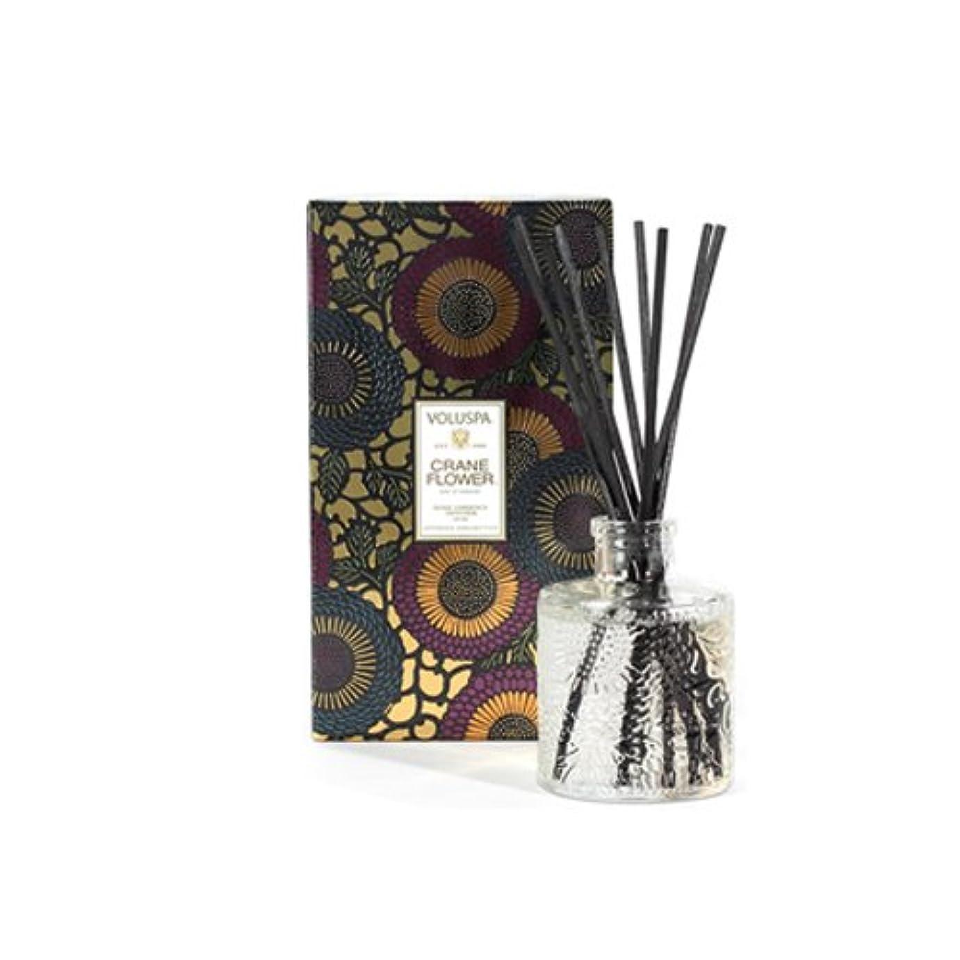 卒業引退する種類VOLUSPA ヴォルスパ ボルスパ ジャポニカシリーズ クレーンフラワー リードディフューザー 100ml JAPONICA Crane Flower Reed Diffuser [並行輸入品]