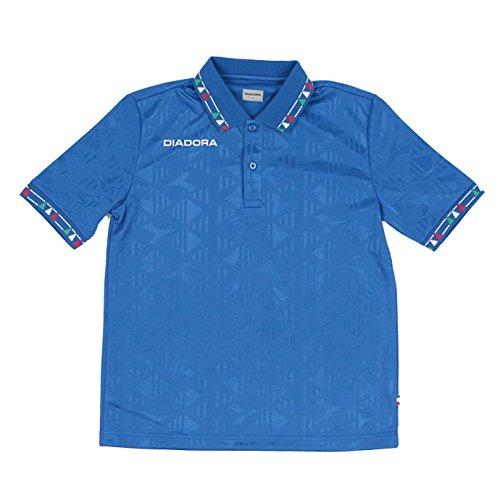 ディアドラ(DIADORA) メンズ CSC ジャガード シャツ FG6320 1702 紳士 男性 65(ブルー) O