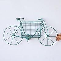 ZYH クリエイティブストレージラック、アイアンアートストレージラック装飾フレームの背景壁リビングルームバー自転車ストレージラック17 * 35.5 * 58.5CM ストレージ機能 (色 : D)