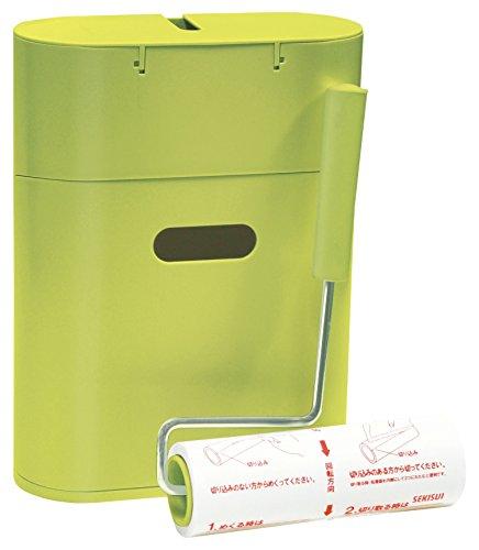 コロモード 収納BOX付 粘着クリーナーセット グリーン ST-029 1個 小久保工業所