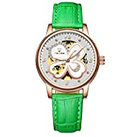 Truda Carllyl 美しいドレス時計 TEVISEレディースウォッチ自動機械ファッション女性用腕時計 (Color : 4)