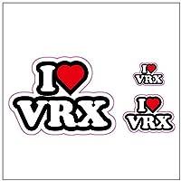 I LOVE VRX ステッカー