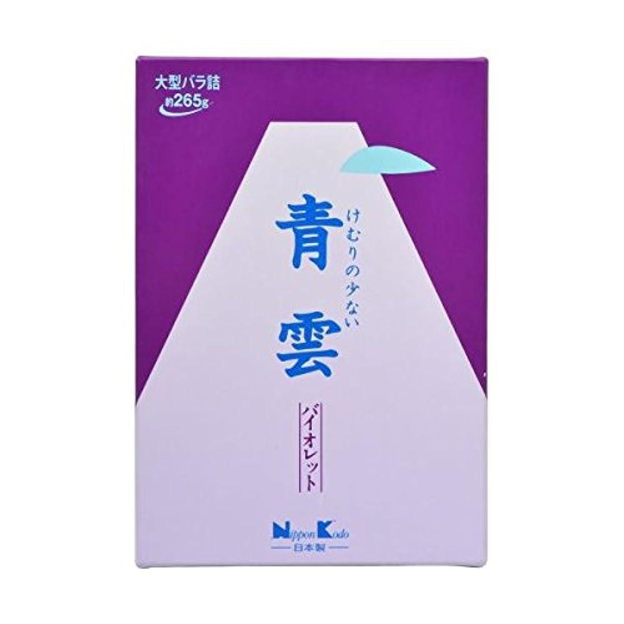充電盟主型【2個セット】日本香堂 青雲バイオレット 大バラ詰