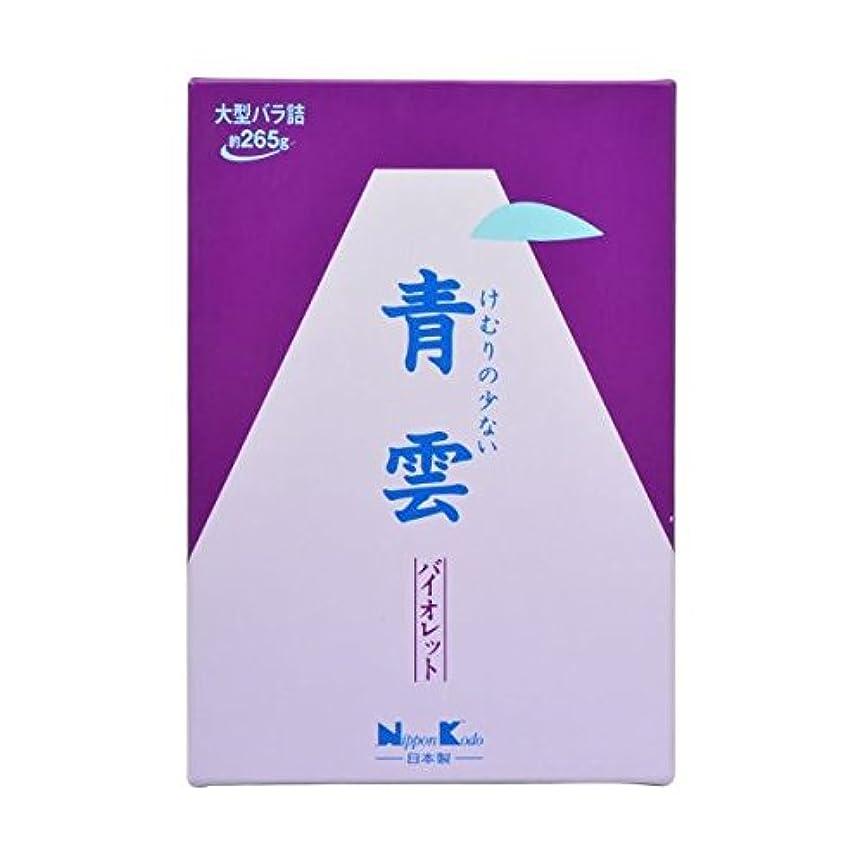 までけん引意外【2個セット】日本香堂 青雲バイオレット 大バラ詰
