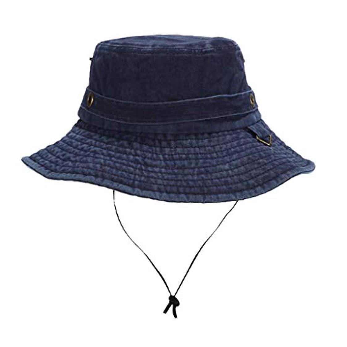 負制限ドライブ帽子 ハット 男女兼用の方法屋外の帽子の保護バケツブーニーの帽子の固体釣帽子