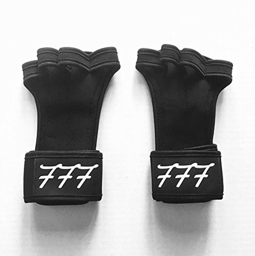 777ワークアウト用手袋Weighlifting、抱く、クロスフィット、HIITトレーニング、 – ボーナスeBook – シリコンパディングを防ぐために裂ける – anti-stink – 手首サポート