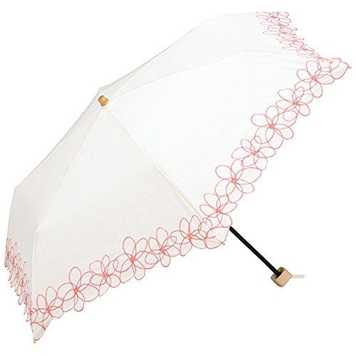 wpc-mini-801-745 50cm オフ (ワールドパーティー) W.P.C 日傘 折りたたみ傘 雨具 花柄 シンプル wpc-mini-801-745