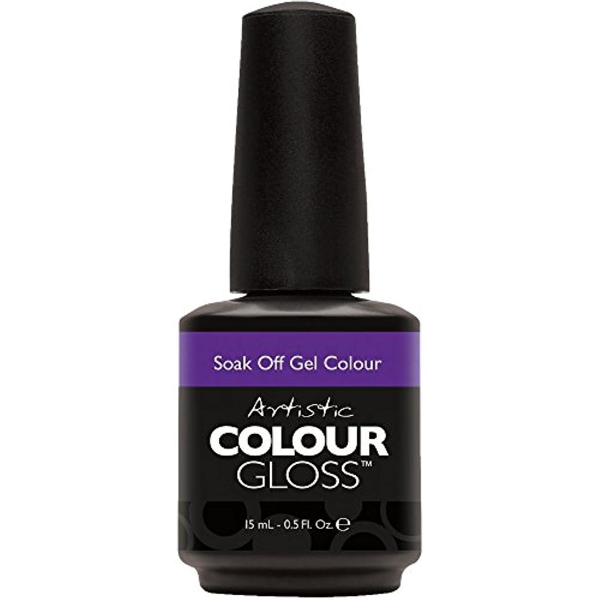 膿瘍アンカー多年生Artistic Colour Gloss - Pin-Up Purple - 0.5oz / 15ml