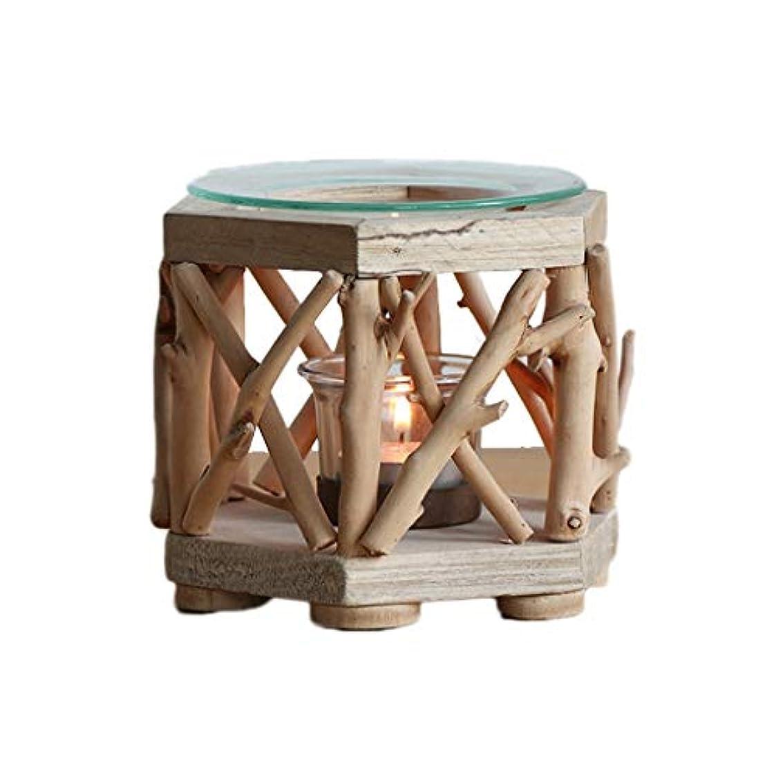 白菜花束リンケージ家庭用木材香ホルダーエッセンシャルオイルアロマ燭台香バーナー寝室アロマセラピー炉香バーナーホルダー (Color : B)