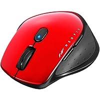バッファロー BSMBW510SRD 無線 BlueLED 5ボタン ネオフィットマウス S レッド