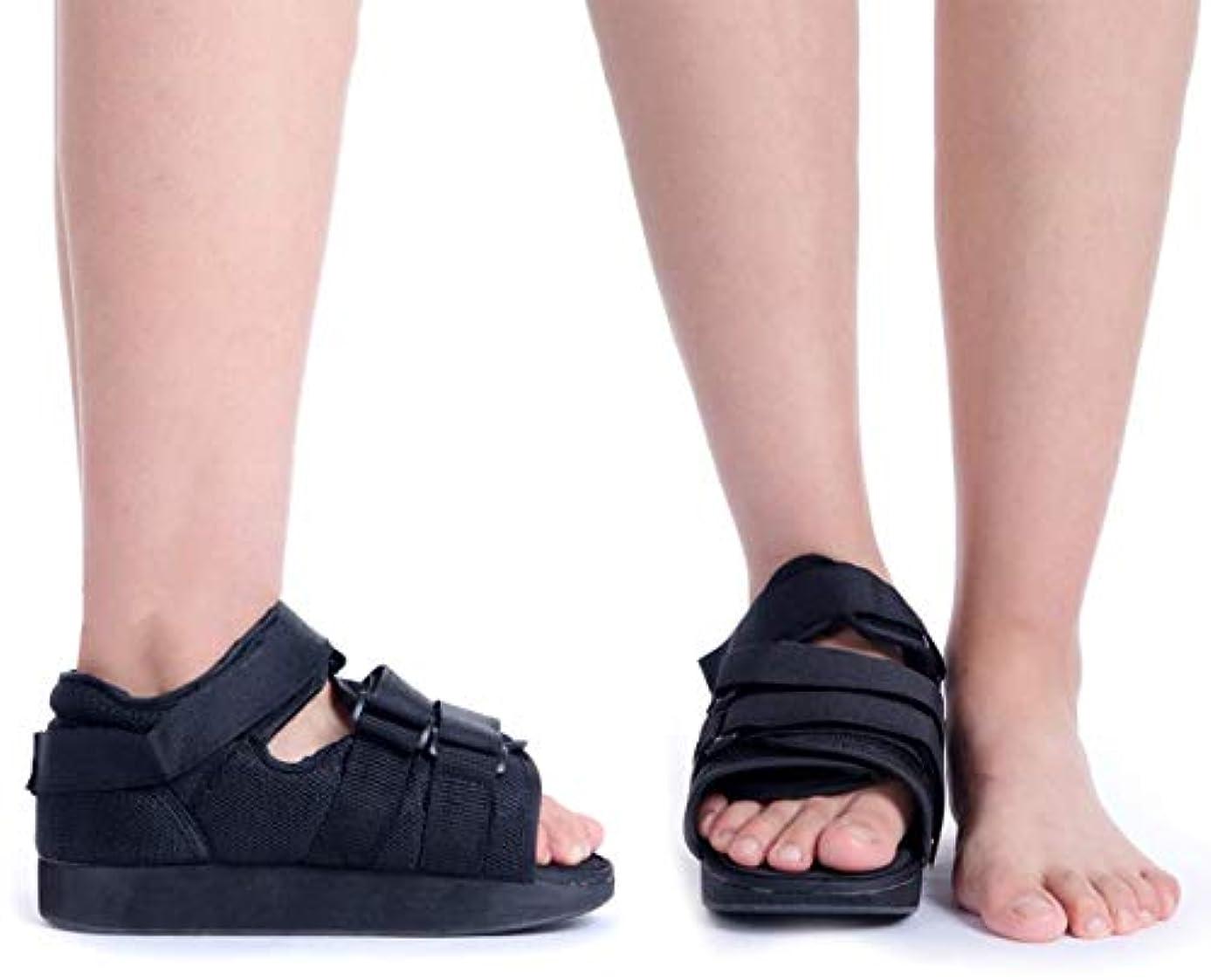 動的ディンカルビルカブ男性と女性のための術後靴 - 調節可能なストラップ付き半硬直術後靴 - 足の骨折/足の骨折のためのウォーキングシューズ (Size : S)