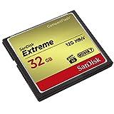 SANDISK ( サンディスク ) 32GB Compact Flash Memory ( 読取速度 最大 120MB 秒 / 書込速度 最大 85MB/秒 ) Extreme SDCFXSB-032G-G46 [ 海外パッケージ ] [並行輸入品] 画像