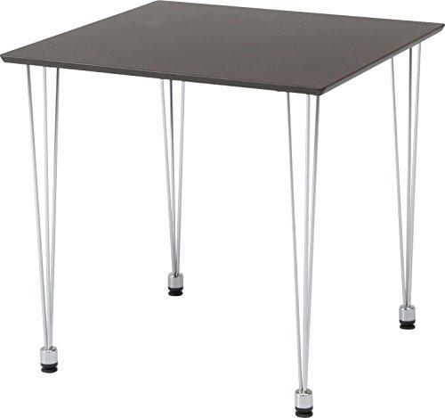 不二貿易 ダイニングテーブル 75×75cm ブラウン 96808