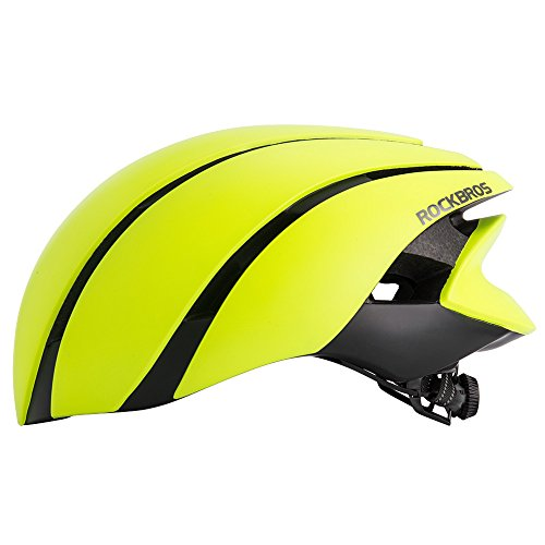 ROCKBROS(ロックブロス)自転車 ヘルメット マウンテンバイクヘルメット 超軽量 高剛性 カブト 大人用 通気性 サイズ調整可能 (頭 囲57-60㎝)