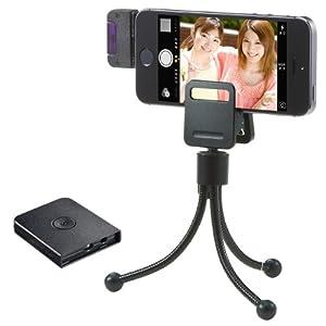 サンワダイレクト iPhone用リモコンシャッター リモートシャッター iPhone5s iPad Air iPad mini Retina 対応 200-DG009