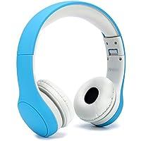 子供専用ヘッドホン ダイナミック密閉型 折りたたみ式 Anble キッズヘッドフォン … (Blue0)