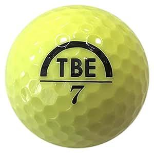 公認球 2ピース構造ゴルフボール イエロー 12球(1ダース) メッシュバック入り TBM-2MBY