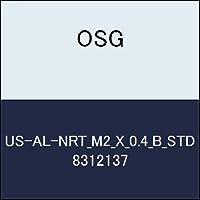 OSG ハイススパイラルタップ US-AL-NRT_M2_X_0.4_B_STD 商品番号 8312137