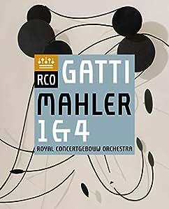 マーラー : 交響曲 第1番 「巨人」 & 交響曲 第4番 (Mahler : Symphony No.1 & No.4 / Daniele Gatti & Royal Concertgebouw Orchestra) [Blu-ray] [Live] [直輸入盤] [日本語帯・解説付]