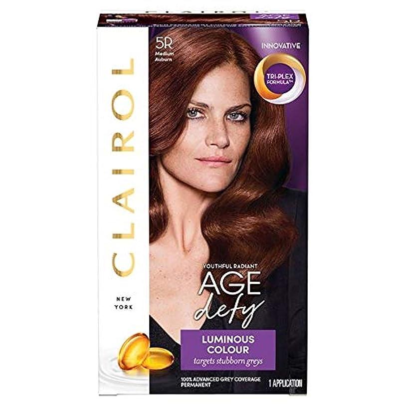 彼知らせるアリ[Nice'n Easy] クレイロール素敵な「N簡単年齢は染毛剤5Rメディア赤褐色を挑みます - Clairol Nice 'N Easy Age Defying Medium Auburn 5R Hair Dye [...