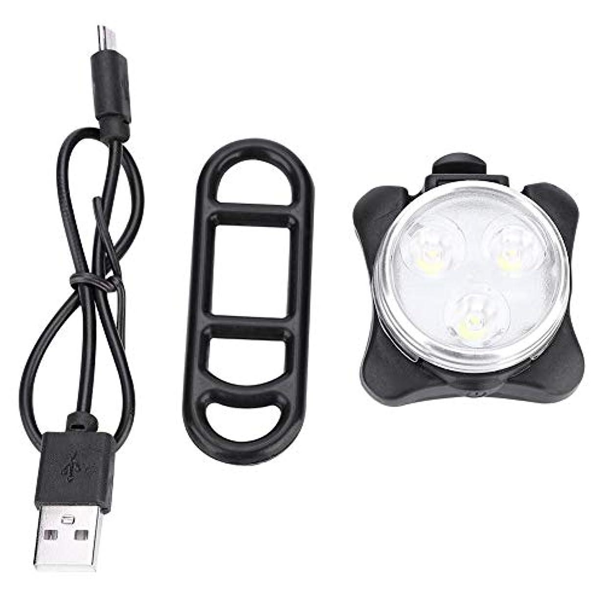 雇ったドライブ電子自転車テールライト COB 自転車リアライト サイクリング セーフティランプ 夜間 警告灯 USB充電式 サドルランプ 防水