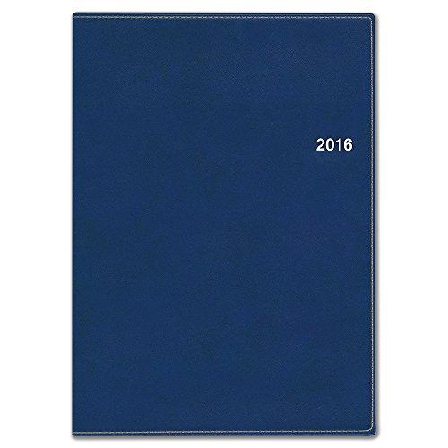 能率 NOLTY 手帳 2016年4月始まり マンスリー アクセスマンスリーA5 ネイビー 9661