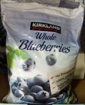 【KIRKLAND】カークランド 冷凍ブルーベリー 2.27kg(冷凍食品)