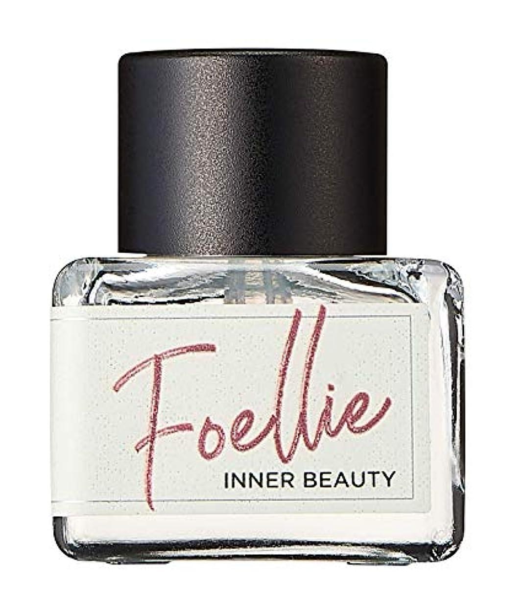 キャップ共役天文学[フォエリー(FOELLIE)] eau de bonbon オードボンボン – フェミニン、インナービューティー香水(下着用)、甘い桃の魅力的な香りの香水, 5ml(0.169 fl oz)