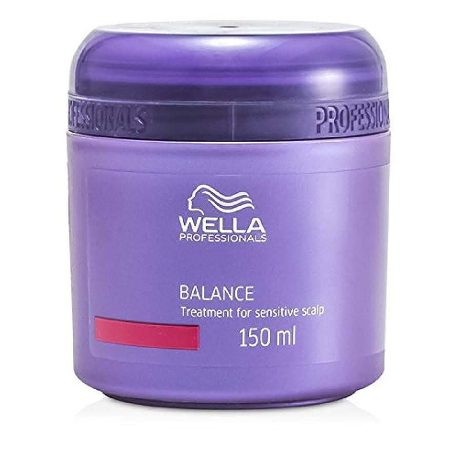 花輪進捗成熟ウエラ バランス トリートメント 敏感な頭皮用 150ml/5oz並行輸入品