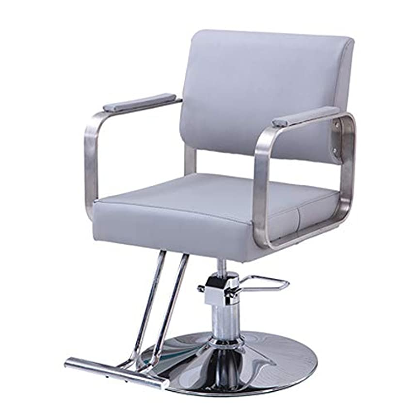 ディプロマ布アブストラクトサロンスタイリングチェア、理髪アームチェア、ヘビーデューティービューティーサロン理容回転チェア、スタイリストチェア、ヘアカットプロフェッショナルサロン機器