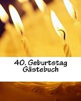 40. Geburtstag Gaestebuch
