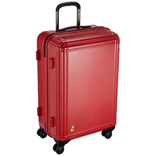 [エース] スーツケース スタンディングミッキー 59cm 60L   60.0L 59cm 4.2kg 06112 10 レッド