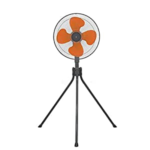 山善(YAMAZEN) 45cm工業扇風機(スタンド式)(押しボタンスイッチ) YKS-455
