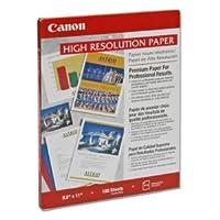 Canon HR - 101、高解像度用紙、8.5X 11