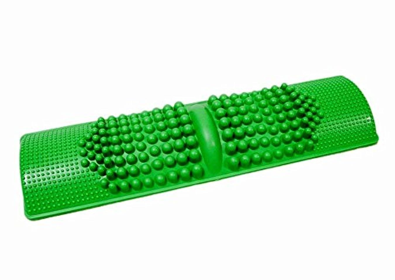 磁気不定強調簡単に健康維持 BIGサイズ 足つぼマッサージ 【足つぼ対応表付き】 足 踏み 足裏 刺激 血行促進 (グリーン) 簡単に健康維持 BIGサイズ 足つぼマッサージ 【足つぼ対応表付き】