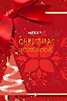 Merry christmas: a beautiful book with Christmas designs