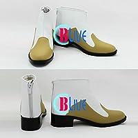 ●●サイズ選択可●●I0162ZCI コスプレ靴 ブーツ テイルズ オブ エクシリア2 ルドガー・ウィル・クルスニク Ludger 女性22CM