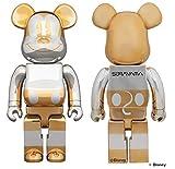 BE@RBRICK FUTURE MICKEY 1000% ミッキー Disney ディズニー 空山基 sorayama Bearbrick メディコムトイ ベアブリック 100&400 3体セット