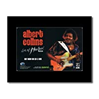 ALBERT COLLINS - Live at Montreux 1992 Mini Poster - 21x13.5cm
