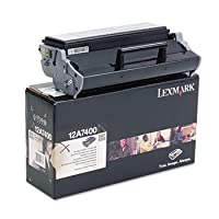 12a7400トナー3000ページ印刷可、ブラック