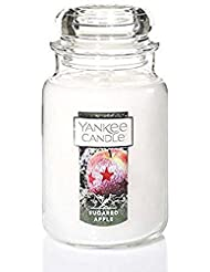 Yankee Candle Sugared Apple Large Jar Candle、Festive香り